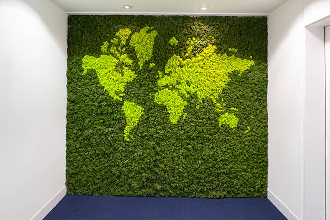 Green Wall for CTA